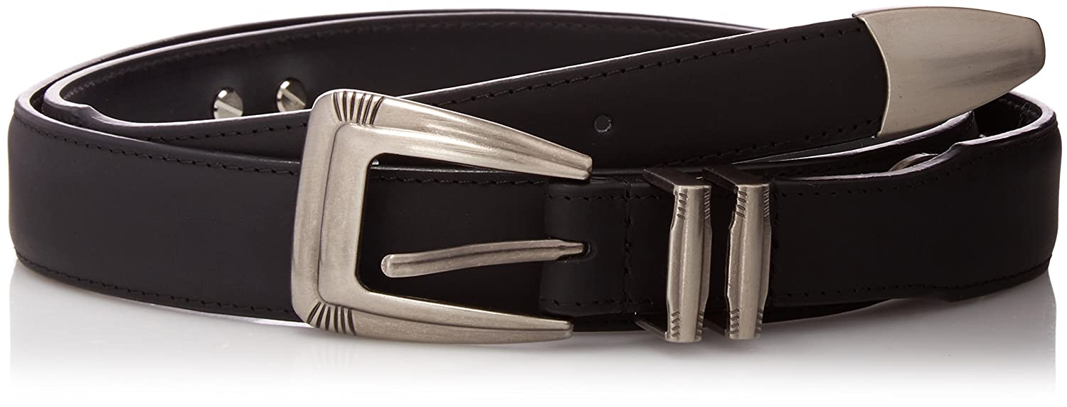 NCAA Georgia Bulldogs Tip Leather Concho Belt Zeppelin Products Inc
