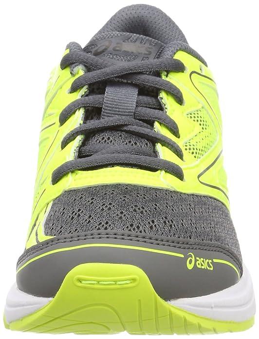 Asics Noosa GS, Scarpe Running Unisex-Bambini, Giallo (Carbon/Safety giallo/Mid Grey 9707), 32.5 EU