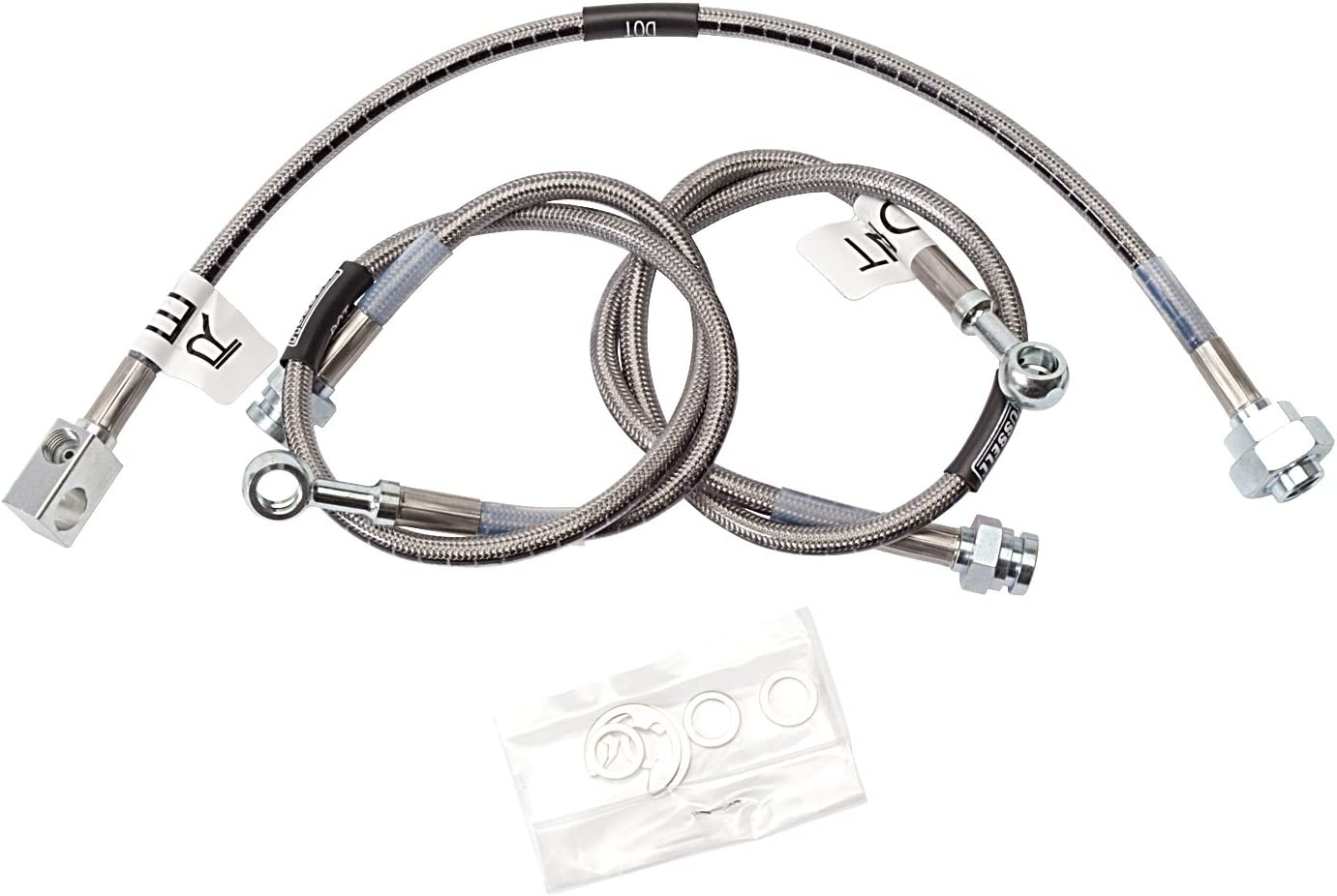 Brake Hydraulic Hose Front Right ACDelco Pro Brakes 18J2677