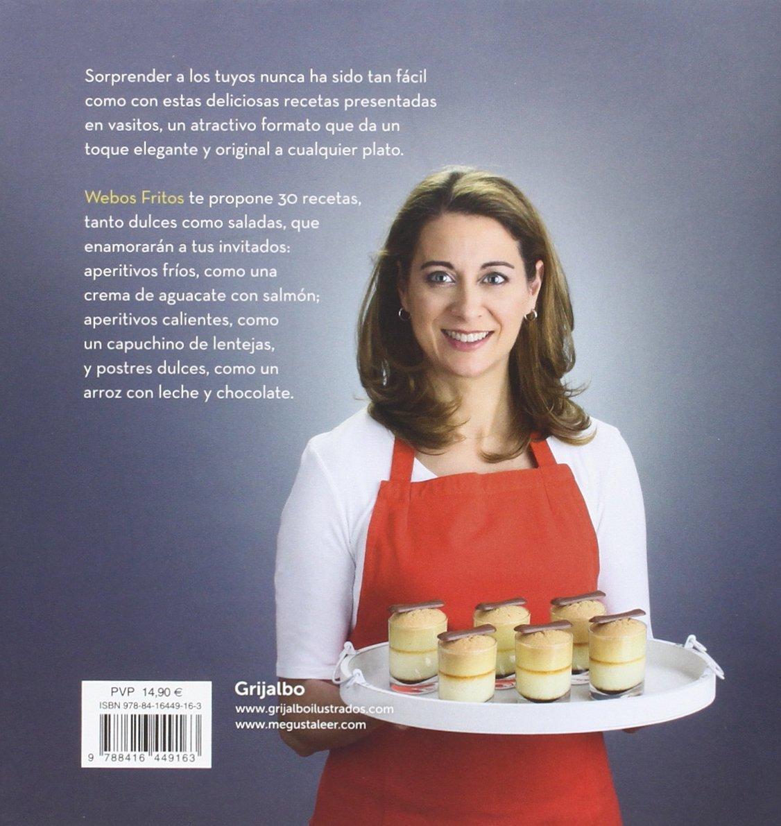 Vasitos -webos fritos- : recetas creativas, dulces y saladas: Jesús Cerezo, Susana Pérez: 9788416449163: Amazon.com: Books