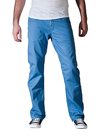 M.O.D MOD Miracle of Denim, Joshua, Herren Jeans Hose, Gabardine, water blue