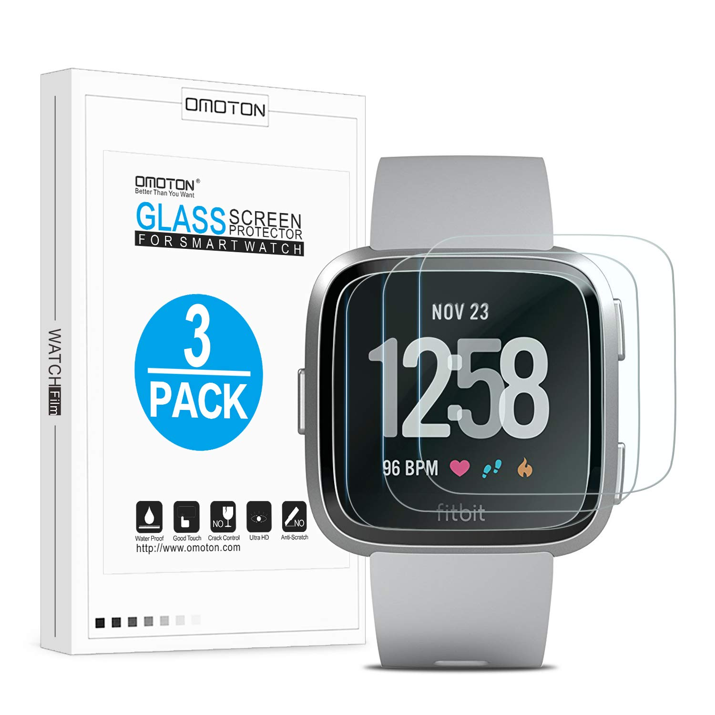 Vidrio Protector Para Fitbit Versa X3 Omoton -7bths86j