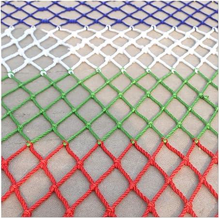Red de seguridad red de carg Color Red de Seguridad Niño Escaleras Red Protectora Cuerda de