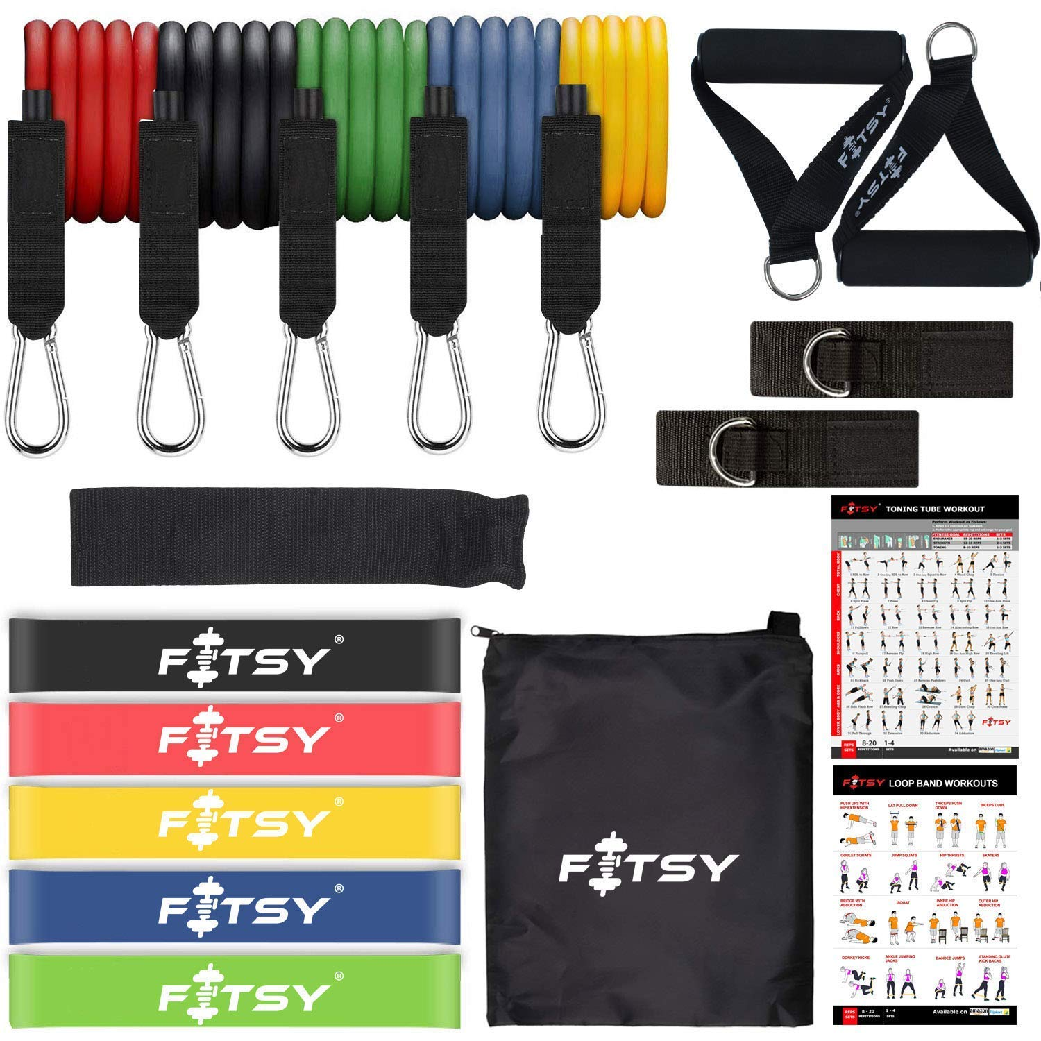 Fitsy resistance bands
