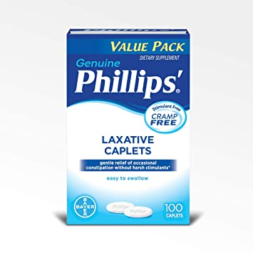 Phillips Laxative Caplets (100-Count ...