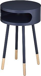 ACME Furniture 84448 Sonria End Table, Black/Natural