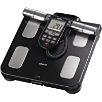 Omron HBF-516B Body Composition Monitor with Scale - 7 Fitness Indicators & 180-Day Memory,Black