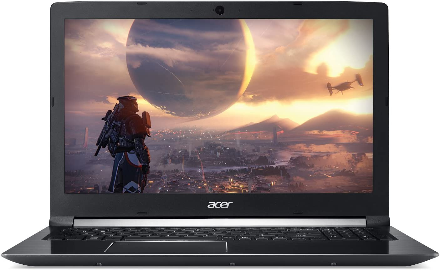 "Acer Aspire 7 Casual Gaming Laptop, 15.6"" Full HD IPS Display, Intel 6-Core i7-8750H, NVIDIA GeForce GTX 1050Ti 4GB, 8GB DDR4, 128GB SSD + 1TB HDD, Fingerprint Reader, Windows 10 64bit, A715-72G-71CT"