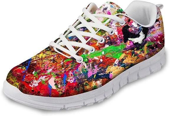 Woisttop Zapatillas de Running para Mujer Zapatillas de Deporte Ligeras Air Road Zapatillas de Deporte City Road Go Zapatillas de Deporte Atletismo Gimnasio Deportivo Zapatillas Transpirables: Amazon.es: Zapatos y complementos