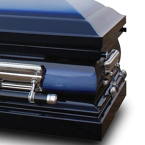 Walmart Coffins - Amazoncom Star Legacy Deluxe Casket Midnight Blue