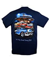 chevrolet bel air tri five 1955 1956 1957 camp hawaiian shirt, navy on 55  chevy color wiring diagram