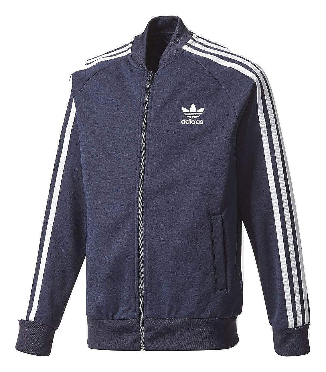 new arrival 10a87 11a8d Amazon.com  adidas Boys SST Track Jacket  Clothing