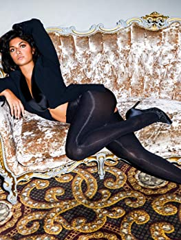 Up to XXXL Ladies 1 Pair Miss Naughty 100 Denier Crotchless Tights