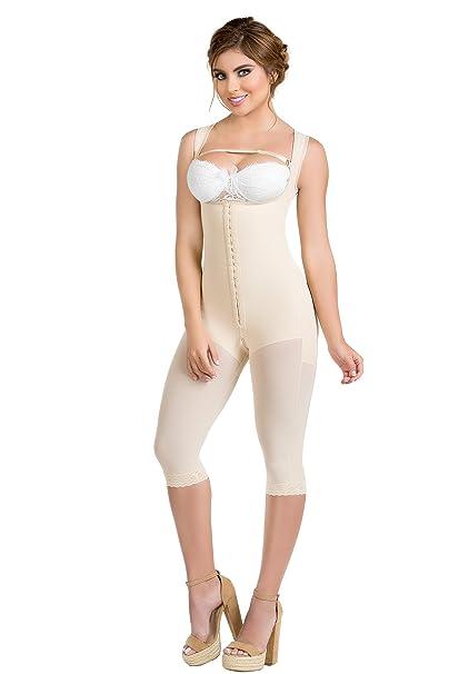 e5accffba6d49 Body Flex Fajas Colombianas Reductoras y Moldeadoras High Compression  Garments After Liposuction Bodysuit at Amazon Women s Clothing store