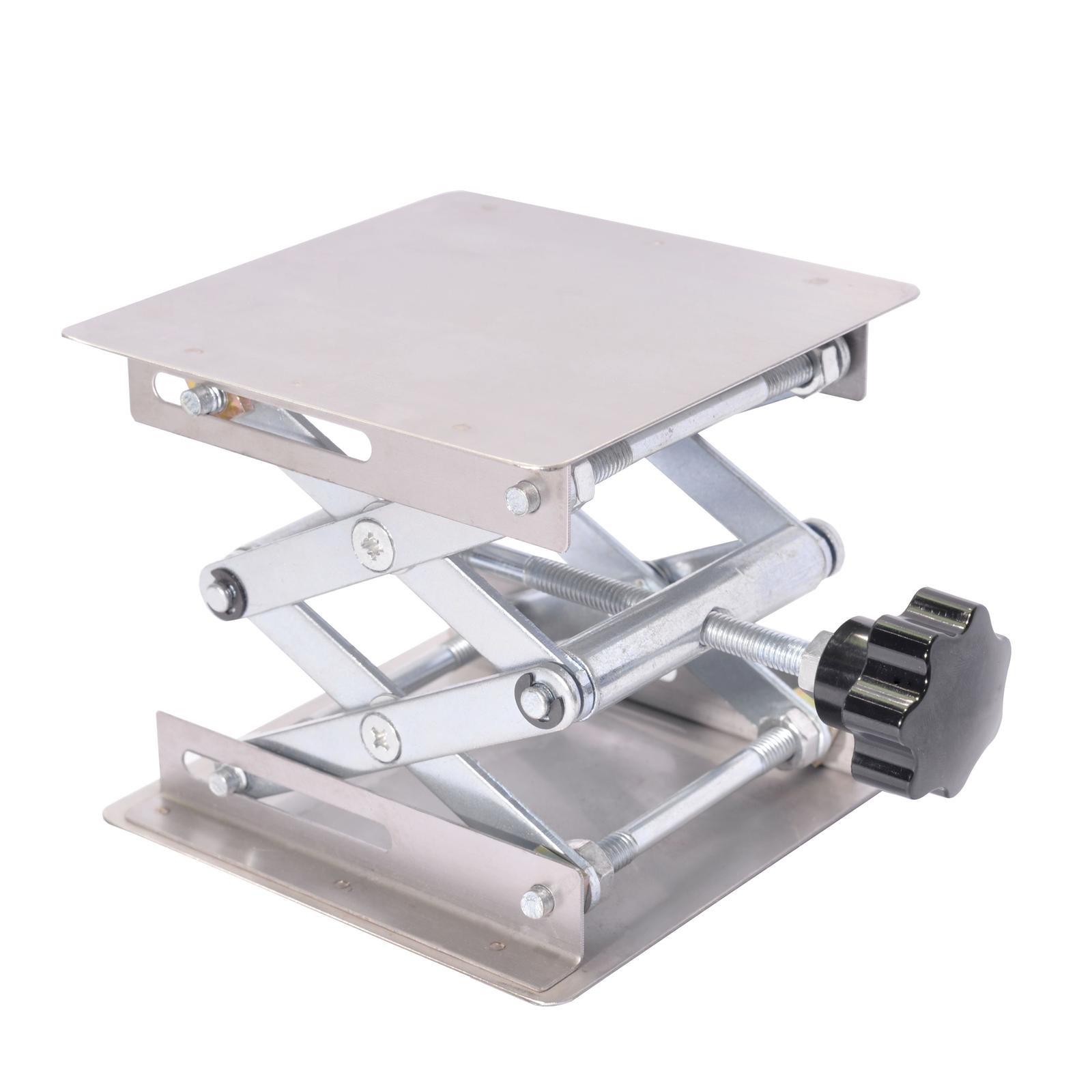 Pronghorn Lab Scissor Lift Platform Stand Jack 4 x 4 Inch