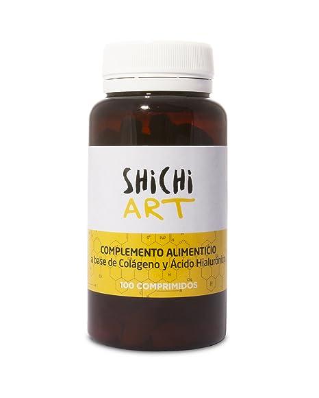 Shichi World Art Complemento Alimenticio Colágeno y Ácido Hialurónico - 100 Cápsulas