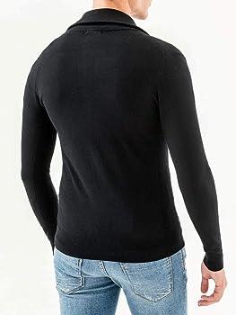 Antony Morato Chaqueta de Punto Cardigan con Patch LATO Cuore para Hombre Hombre Color: 9000 Negro Talla: M: Amazon.es: Ropa y accesorios