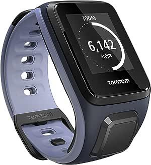 TomTom Spark, GPS Fitness Watch (Small, Sky Captain/Purple Haze)