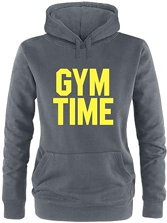 EZYshirt® Gym Time Damen Hoodie