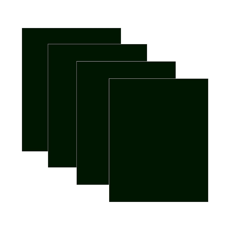Fogli 1m x 50cm per trasferimento vinile caldo su magliette, per taglierina, vinile o macchina pressa a caldo bianco e nero Fluorescent Green Other