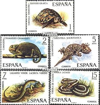 Prophila Collection España Michel.-No..: 2087-2091 (Completa.edición.) 1974 Animales de terrario (Sellos para los coleccionistas) Anfibios / Reptiles / Dinosaurio: Amazon.es: Juguetes y juegos