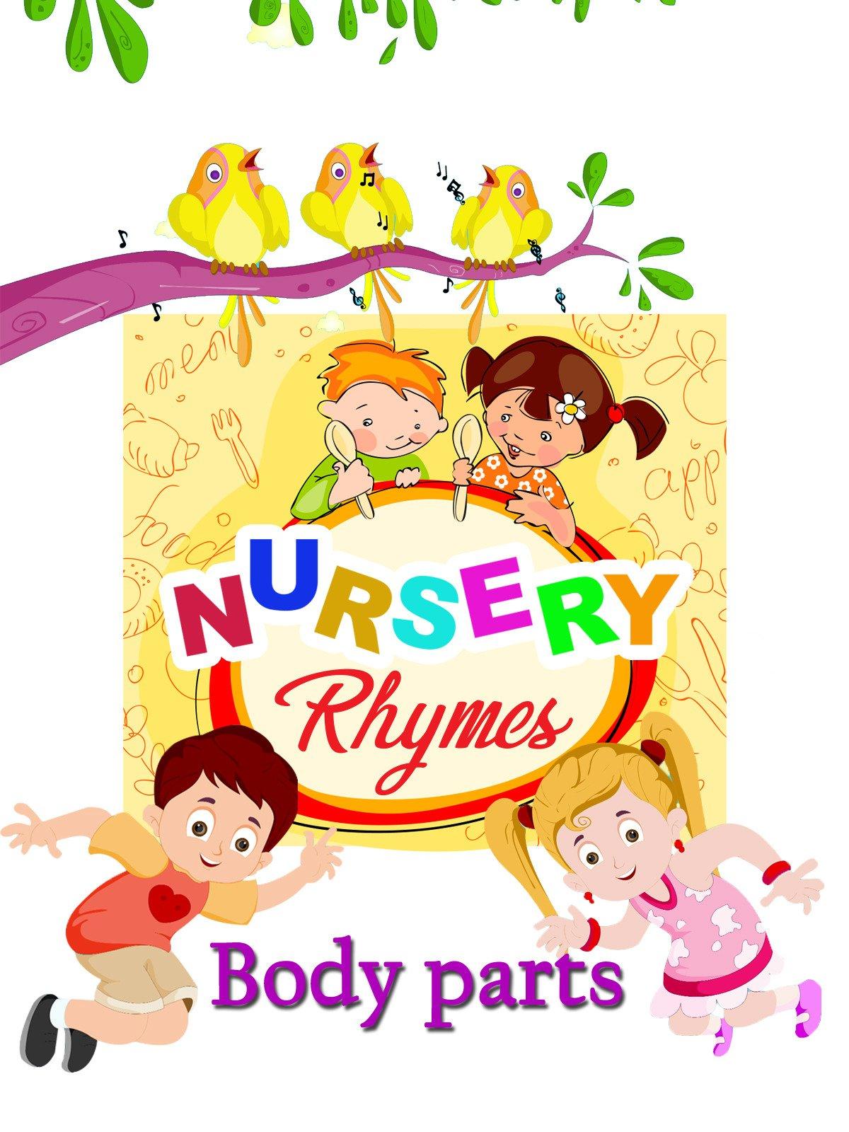 Amazon.com: Nursery Rhymes - Body Parts: Anon Trendz: Amazon Digital ...