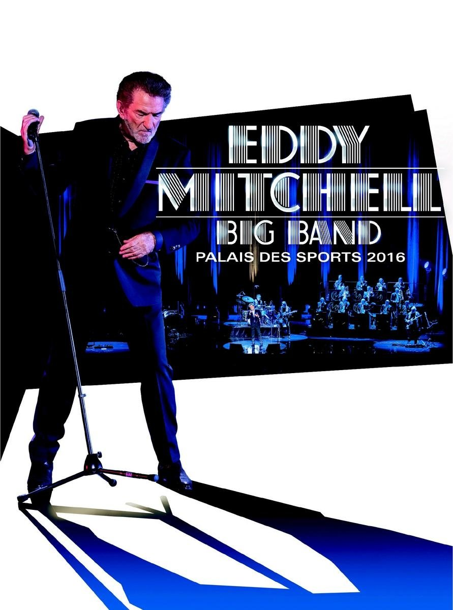 Blu-ray : Eddy Mitchell - Big Band Palais Des Sports 2016 (France - Import)