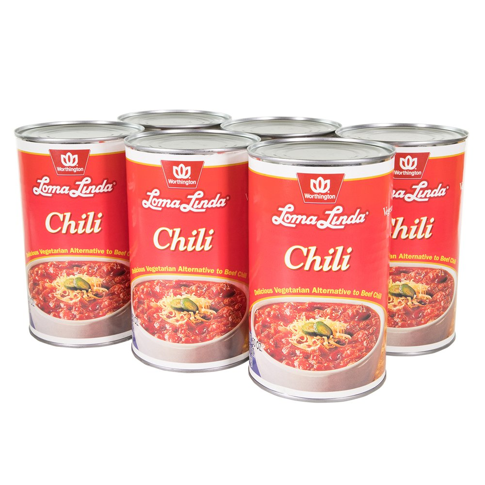 Loma Linda - Plant-Based - Chili (50 oz.) (Pack of 6) - Kosher by Loma Linda (Image #2)