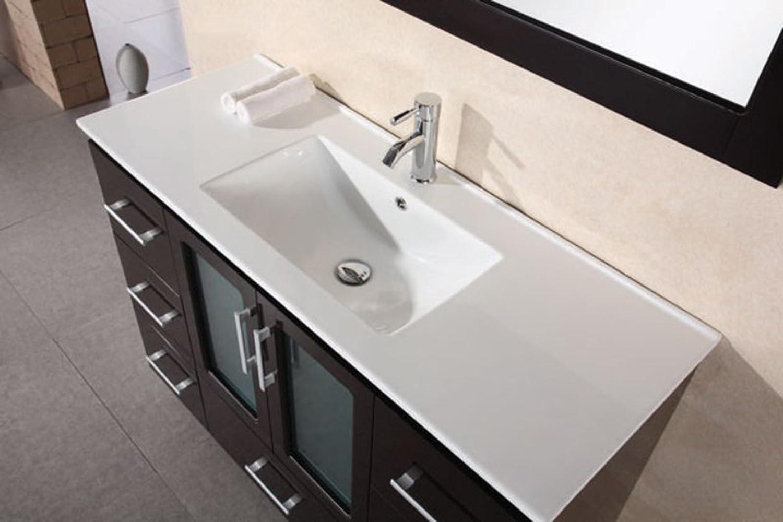 stylist and luxury bathroom vanities and tops. Design Element Stanton Single Vessel Sink Vanity Set with Espresso Finish  36 Inch Bathroom Amazon com
