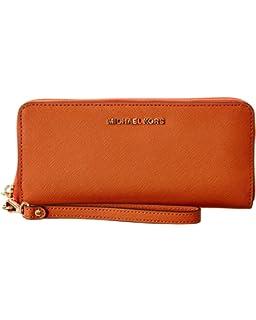 64c2c4f908a8 Amazon.com  Michael Kors Womens Money Pieces Purse Brown (Acorn ...