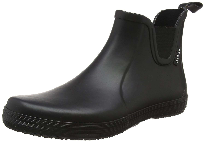 Black (black 001) Aigle Men's Malouin Chelsea Wellington Boots