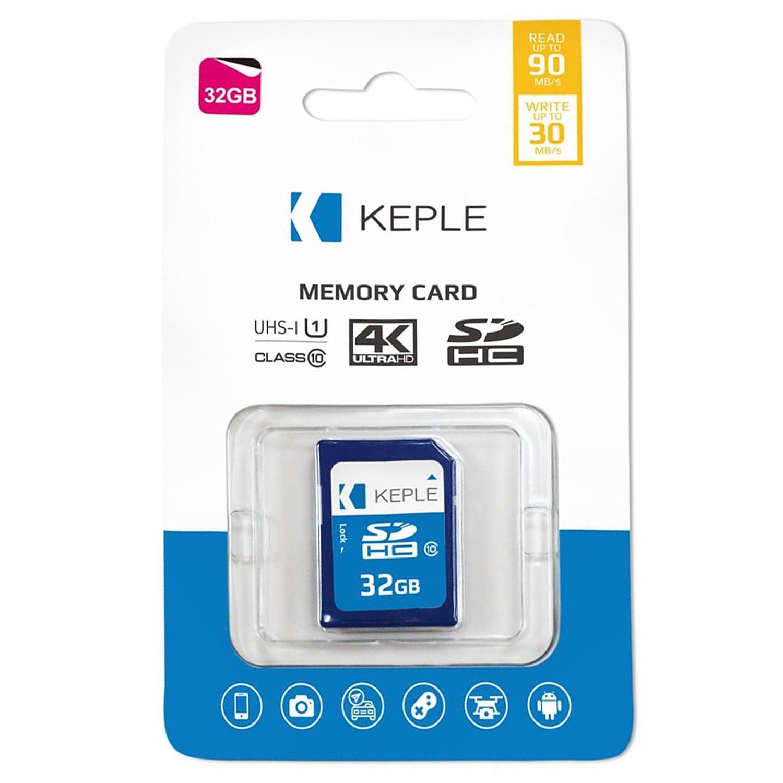 Keple Scheda di Memoria SD da 32 GB Scheda SD ad Alta velocità per Sony Cyber-Shot DSC-H90, DSC-HX300, DSC-HX50V, DSC-HX90V DSLR Fotocamere Digitali | 32 GB di Memoria di Classe 10 U1 SDXC Card M-SD-32G-C10-U1/35