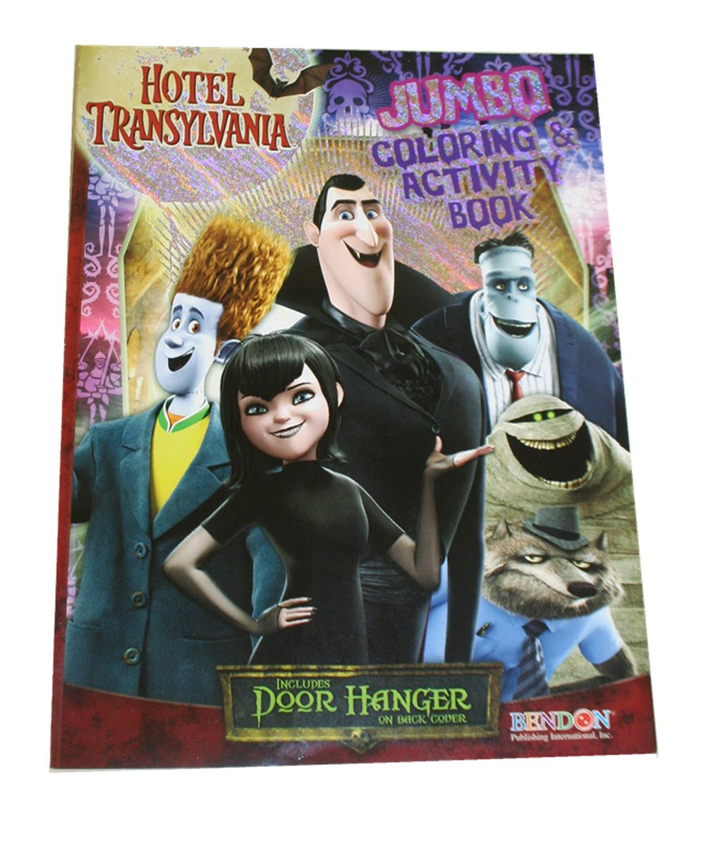 Hotel Transylvania Jumbo Coloring & Activity Book Bendon Publishing