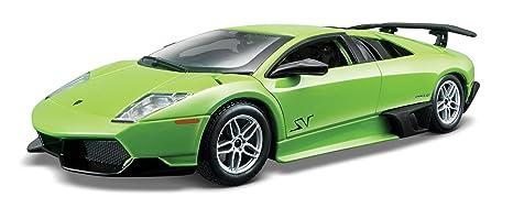 Amazon Com Bburago Lamborghini Murcielago Diecast Model Car 1 24