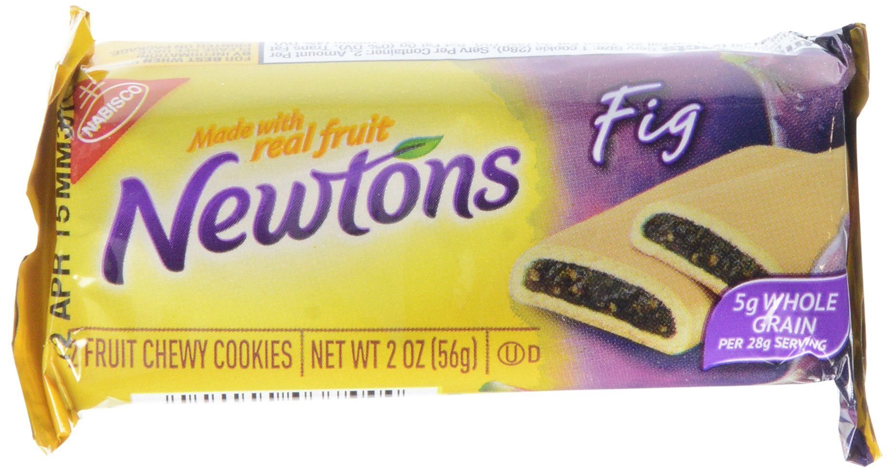 Newtons Fig Cookies Snack Pack, 12 Count