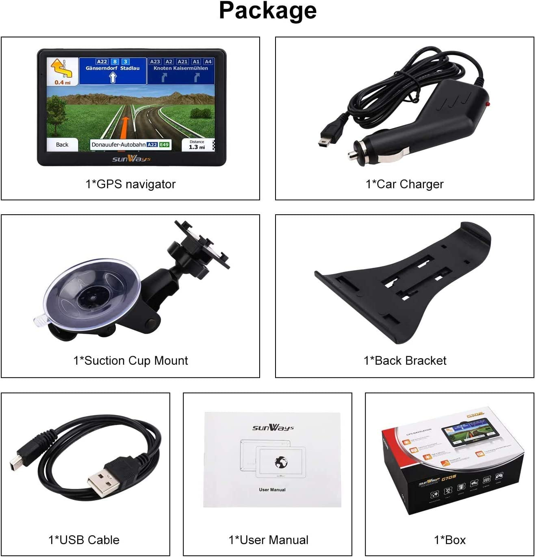 Navi 7 Zoll Navigation fr Auto Touchscreen LKW Navigationsgert ...