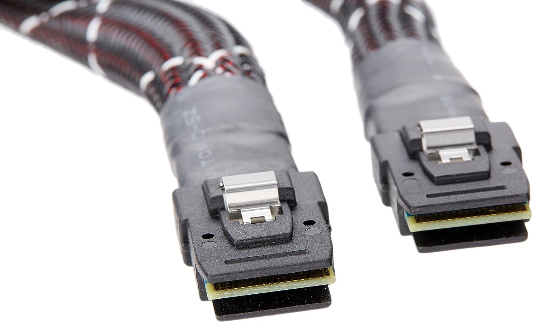 Broadcom 0.8m Mini-SAS to Mini-SAS Multi-Lane Internal SAS Cable LSI LSI00249