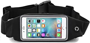 i2 Gear Running Belt Cell Phone Holder for iPhone 12, 11 Pro Max, LG G6, G8, Samsung Galaxy S10 plus, S9, Moto G7 Power, Zoom