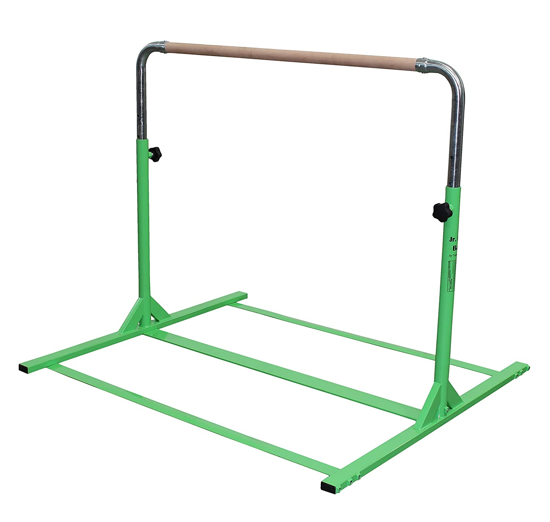 Amazon Tumbl Trak Expandable Gymnastics Training Jr Kip Bar Green Sports Outdoors