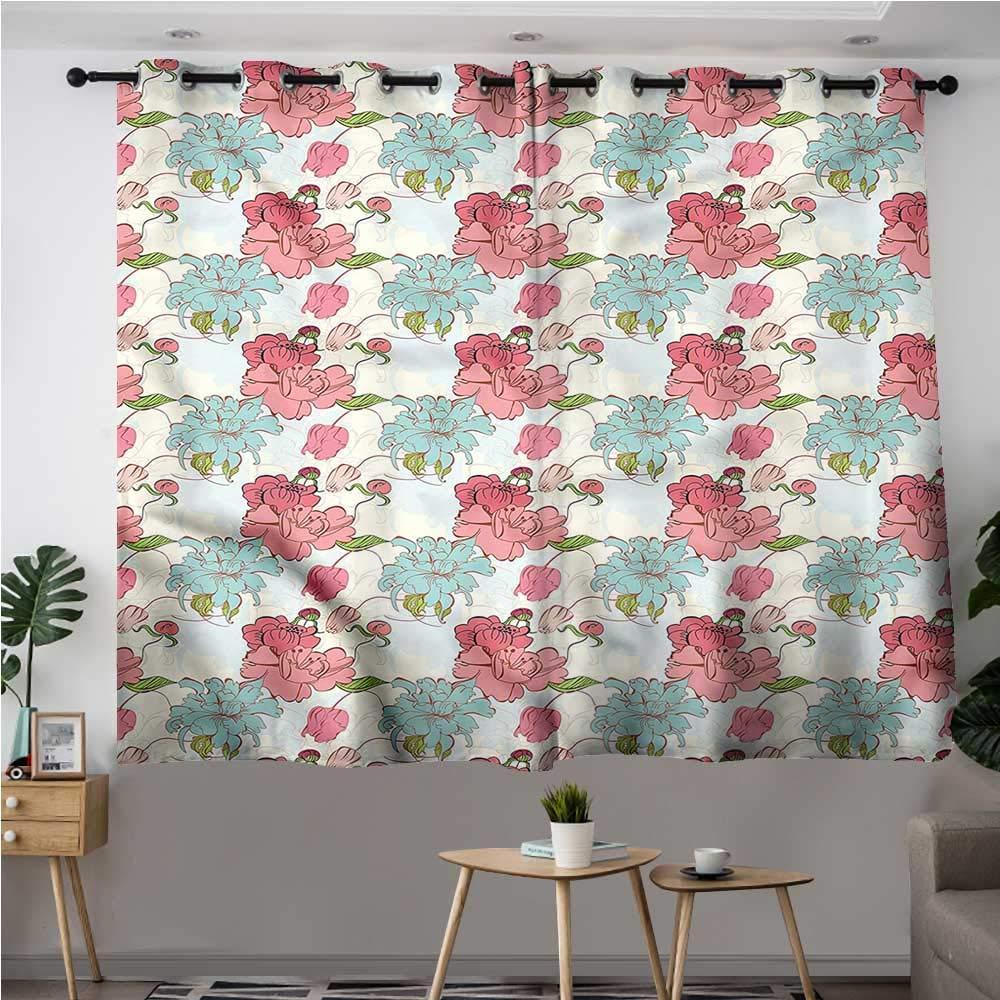 Amazon.com: Jaydevn Curtains,Extra Darkening Curtains ...