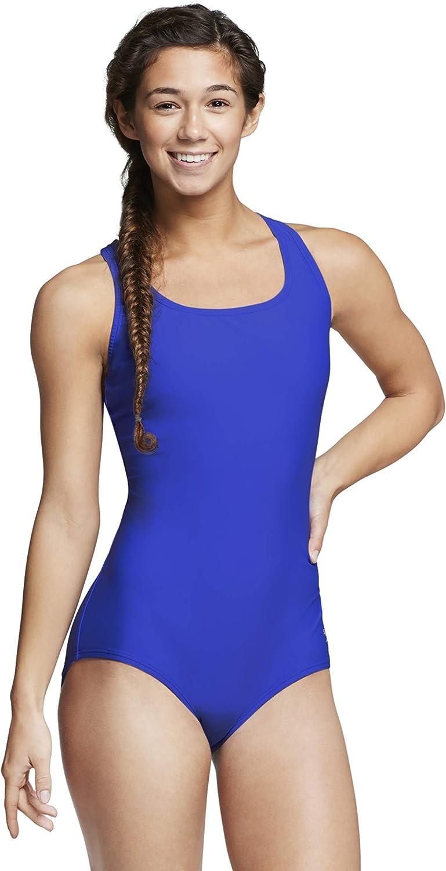 Speedo Womens Swimsuit One Piece PowerFlex Ultraback Solid