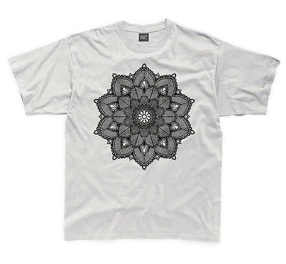 cad2c70abc19 Tribal T-Shirts Mandala Tattoo Design Children's Unisex T Shirt (3 To 4,