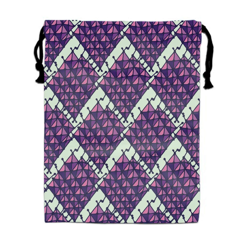Floral Drawstring Portable Storage Shoe Outdoor Travel Bag Dustproof Gift Bags
