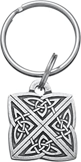 product image for DANFORTH - Celtic Knot Keyring - 1 1/4 Inches - Pewter - Key Fob - Handcrafted - Made in USA