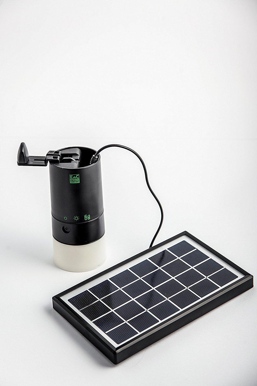 Lights 2 in1 nevera Set: Solar de LED de lámpara + Panel Solar ...
