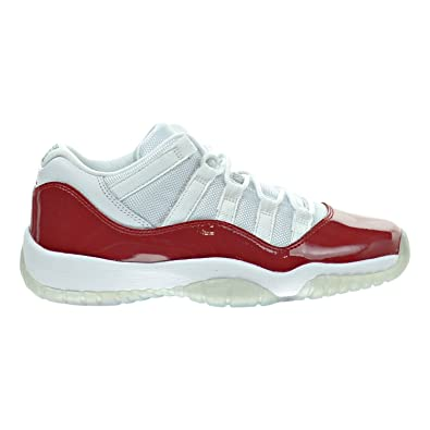 Jordan Air 11 Retro BG Big Kid s Shoes White Varsity Red Black 528896- 58480d042