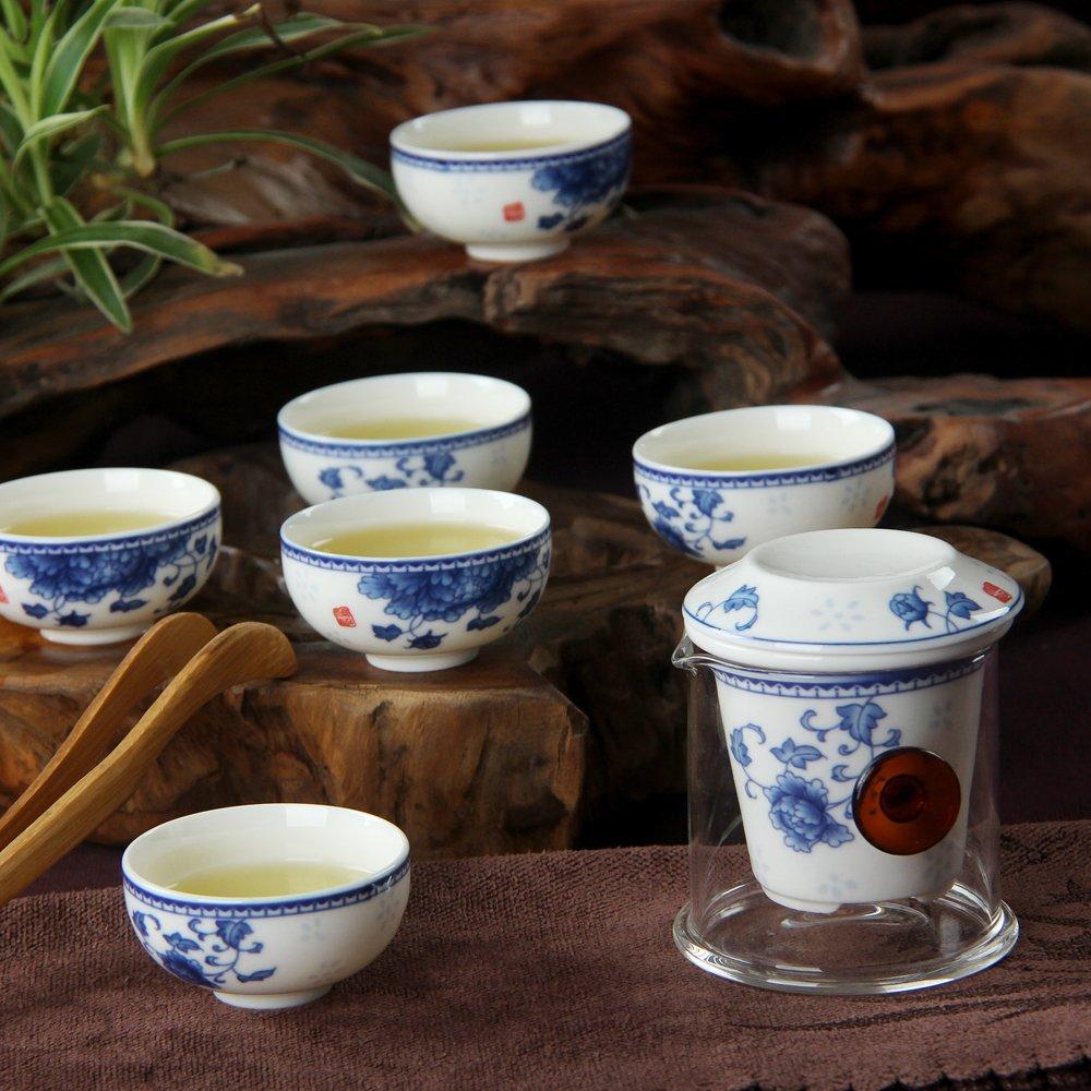 杨玉莹色�_銮瓷 陶瓷茶具青花瓷国色天香茶具套旅游茶具 功夫茶具便携装红茶泡