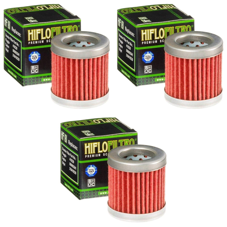 3x /Ölfilter Sfera 125 1995-1998 Hiflo HF181