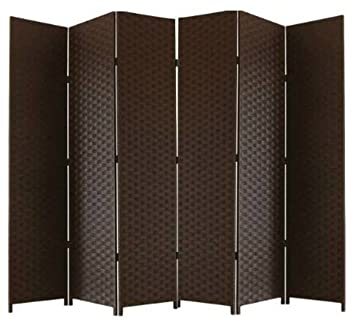 Pleasing Ballino Room Divider Handmade Solid Weave Wicker Room Divider Partition Privacy Screen 3 4 5 6 Panel Room Dividers 3Panel Dark Brown Ltp034 Download Free Architecture Designs Embacsunscenecom