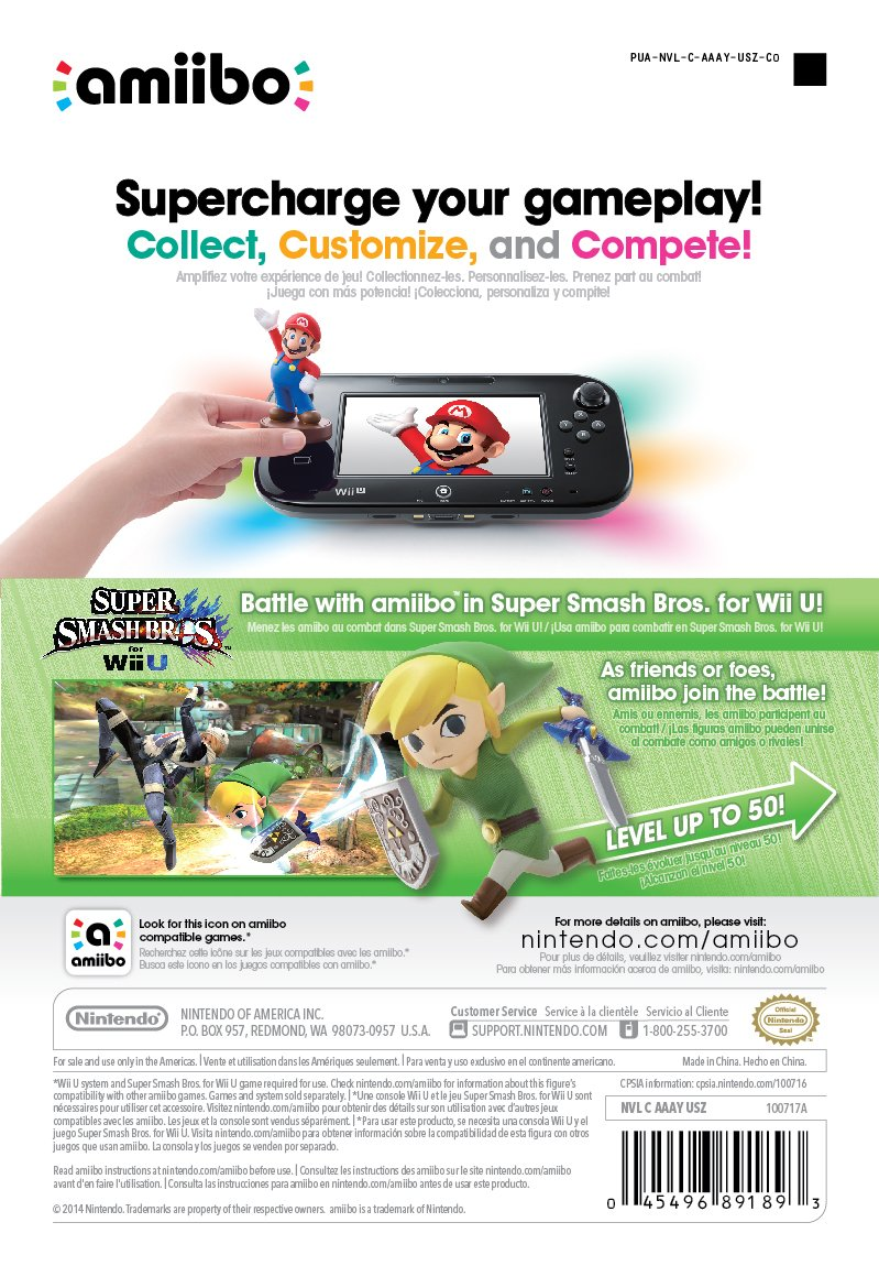 Toon Link amiibo (Super Smash Bros Series) by Nintendo (Image #3)